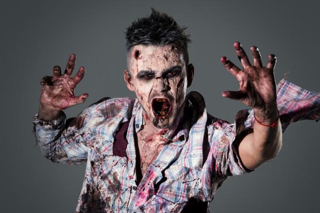 zombie kostume