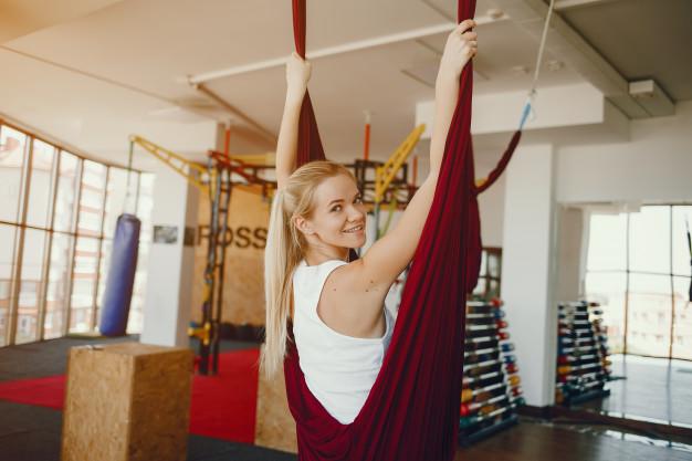 gymnastik hængekøje