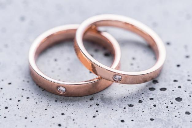 rødguld ringe