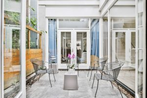 dobbelt terrassedør